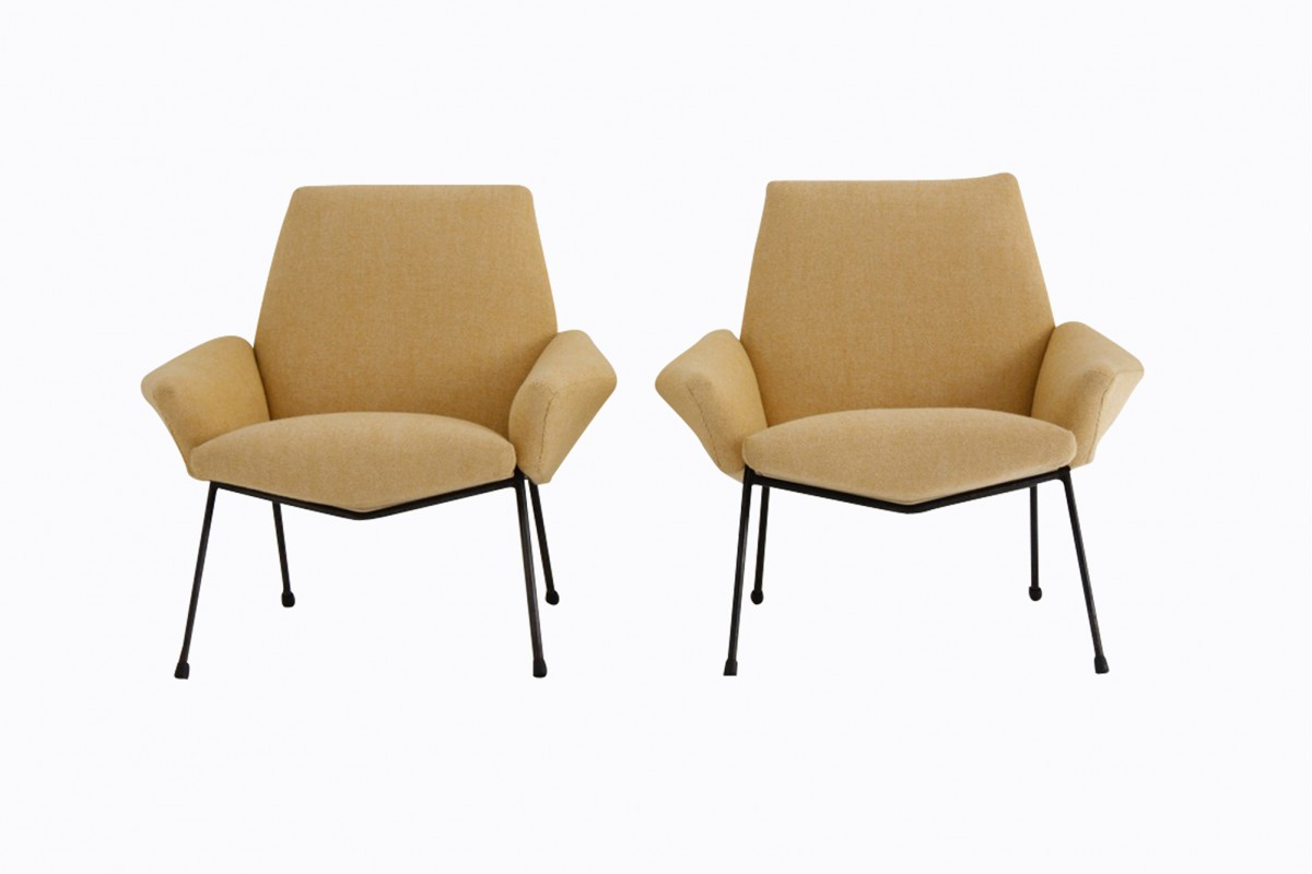 Pair of armchairs, Suzy model