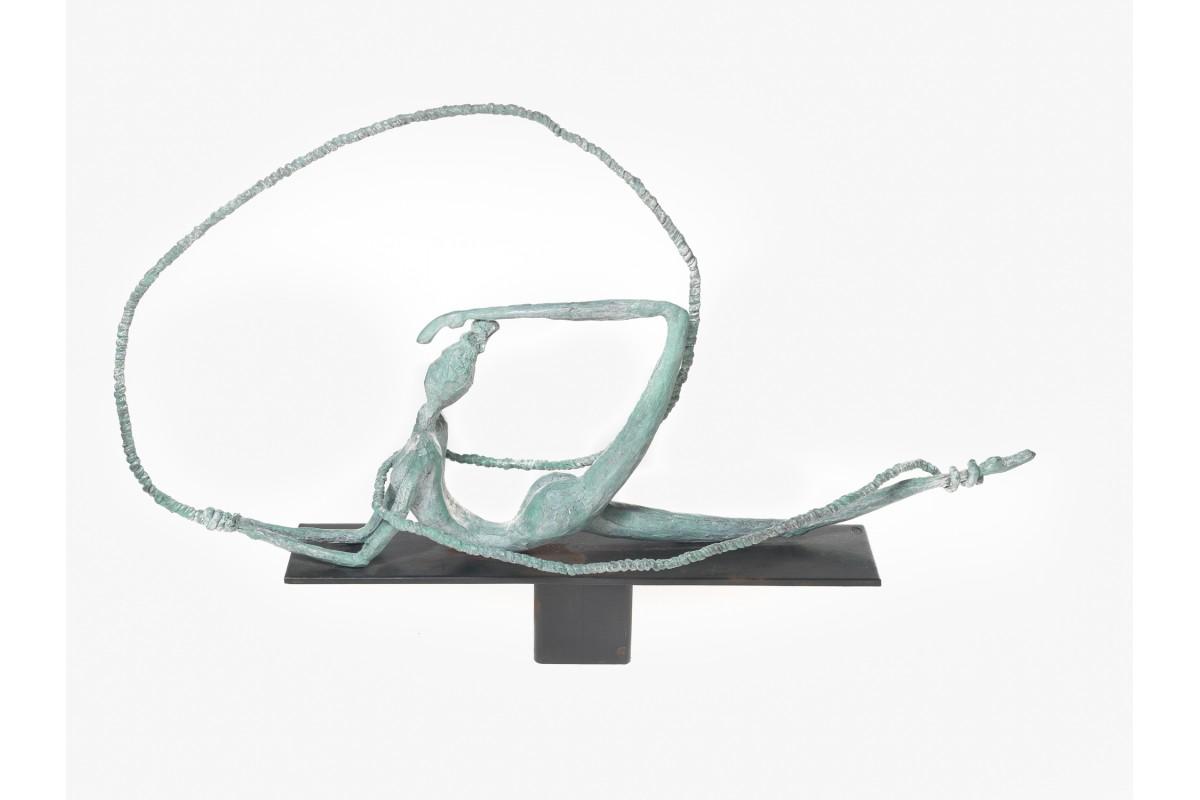 """Sculpture, """"Enlacée"""""""