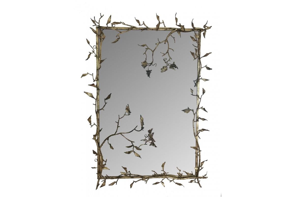 """Miroir - """"branches et raisins"""""""