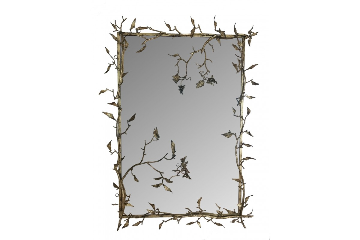 "Mirror - ""branches and grapes"""