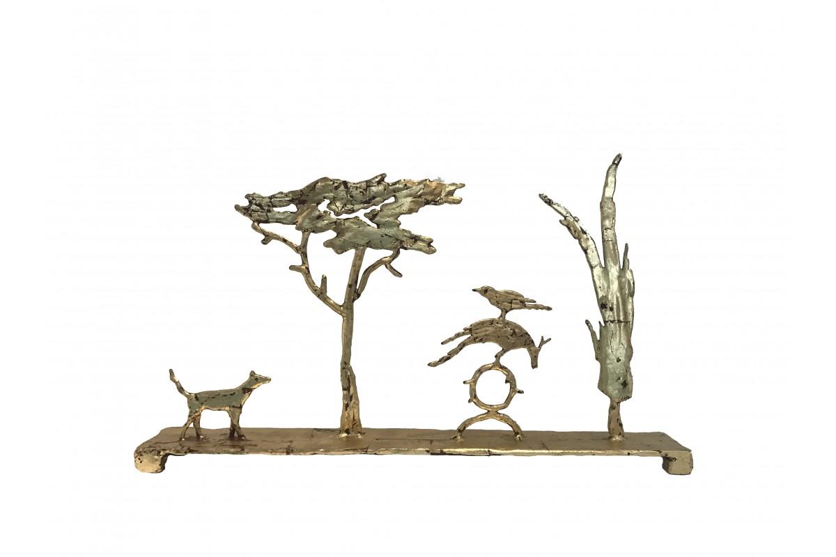 """Sculpture - """"Les oiseaux"""""""