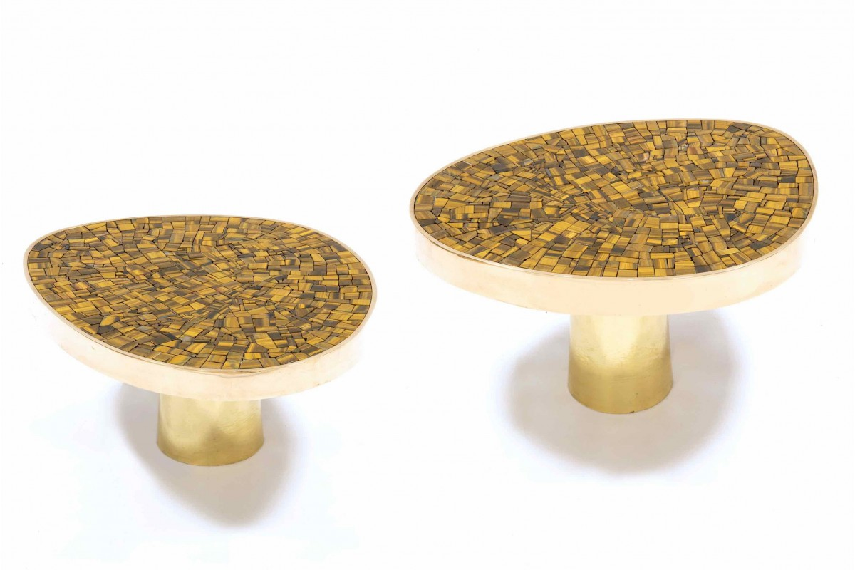 "Pair of side tables, ""Eye..."