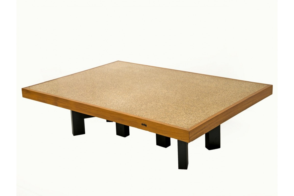 "Table basse ""Grains de poivre"""