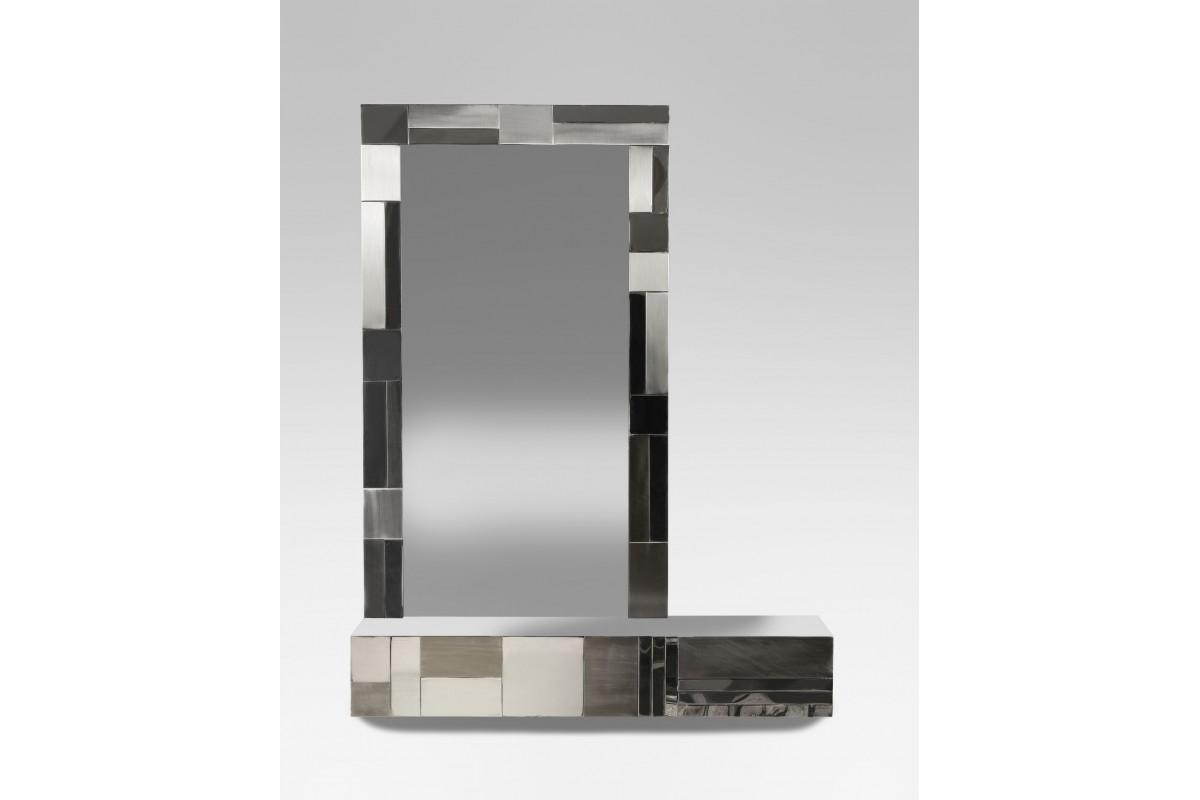 """""""Cityscape"""" console mirror"""