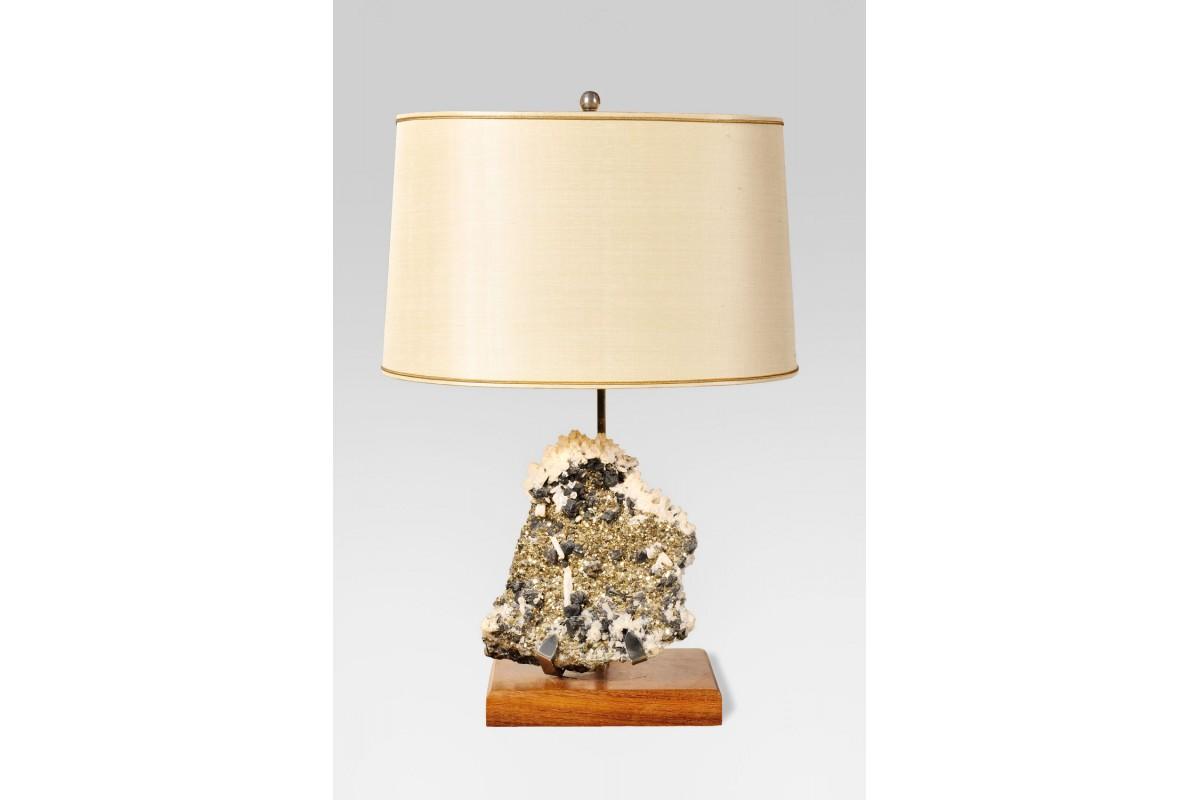 Lampe Pyrite